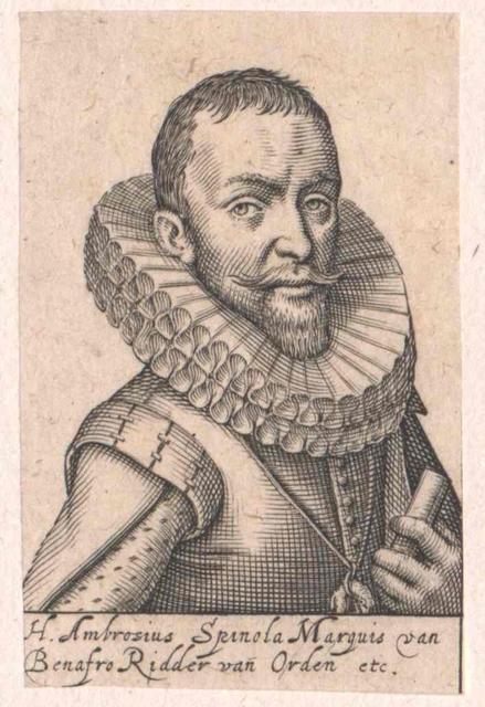 Spinola, 1. Duque de Sexto, 1. Marques de los Balbases, Ambrogio