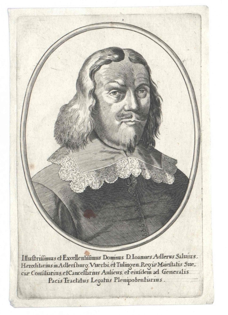 Adler Salvius, Johan