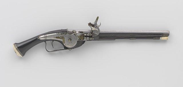 Wheellock pistol