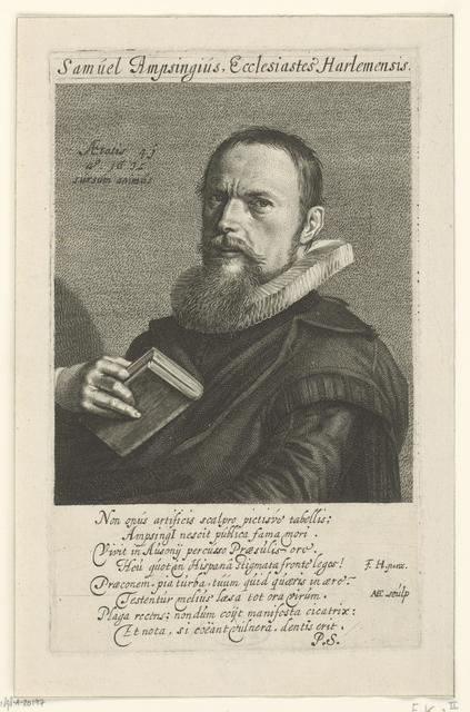 Portret van Samuel Ampzing