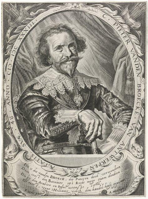 Portret van Pieter van den Broecke