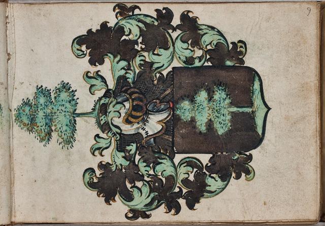 Wapen van Frans van der Linden (ca. 1612-)