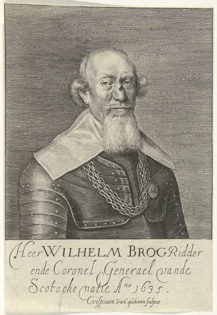 Portret van Sir William Brog