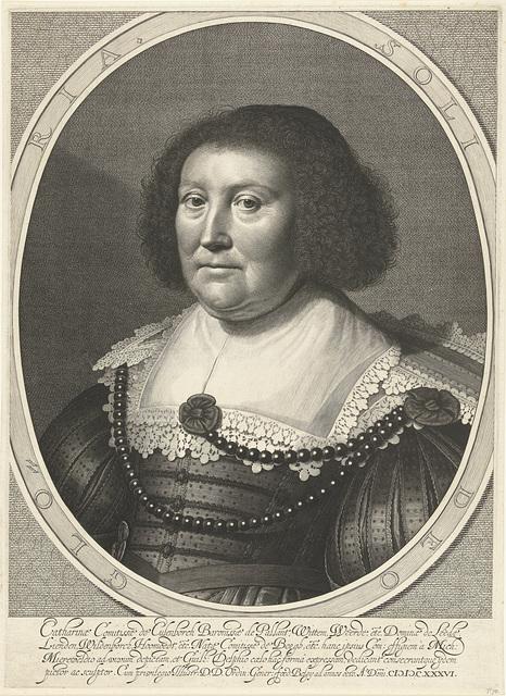 Portret van Catharina van den Bergh, gravin van Pallandt