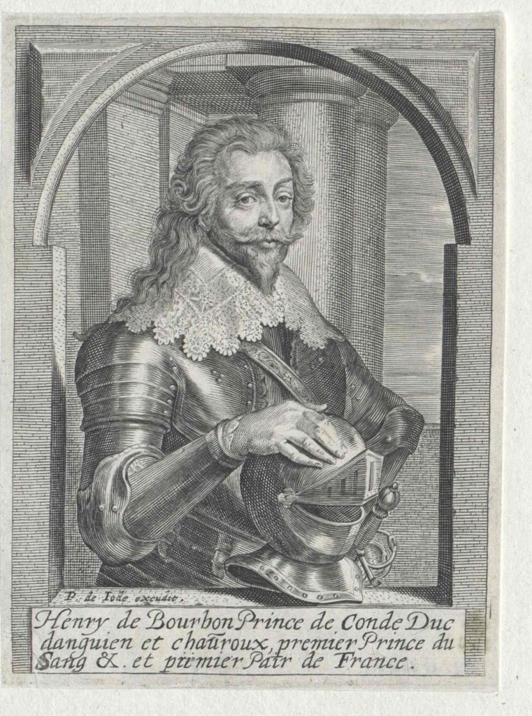 Heinrich II. von Bourbon, Prinz von Condé