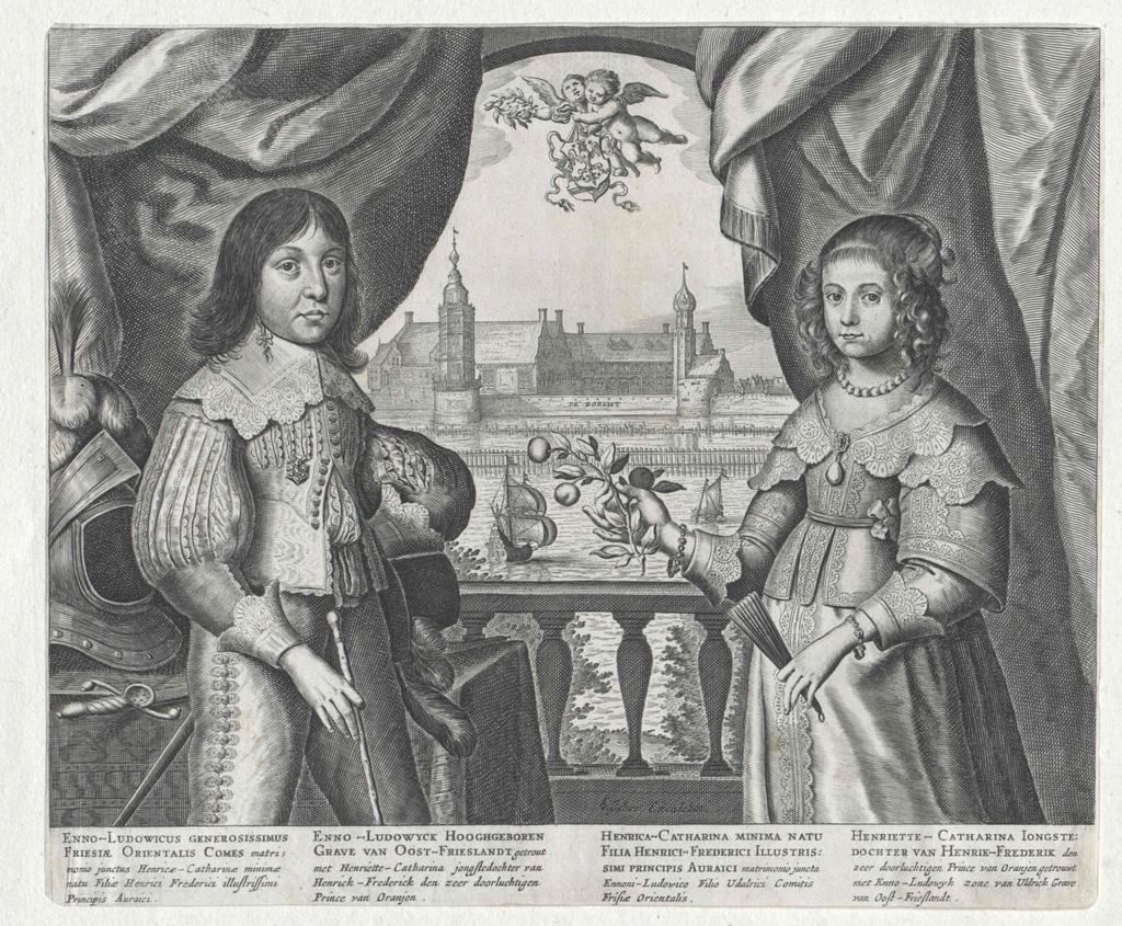 Henriette Katharina, Prinzessin von Oranien, Gräfin von Nassau
