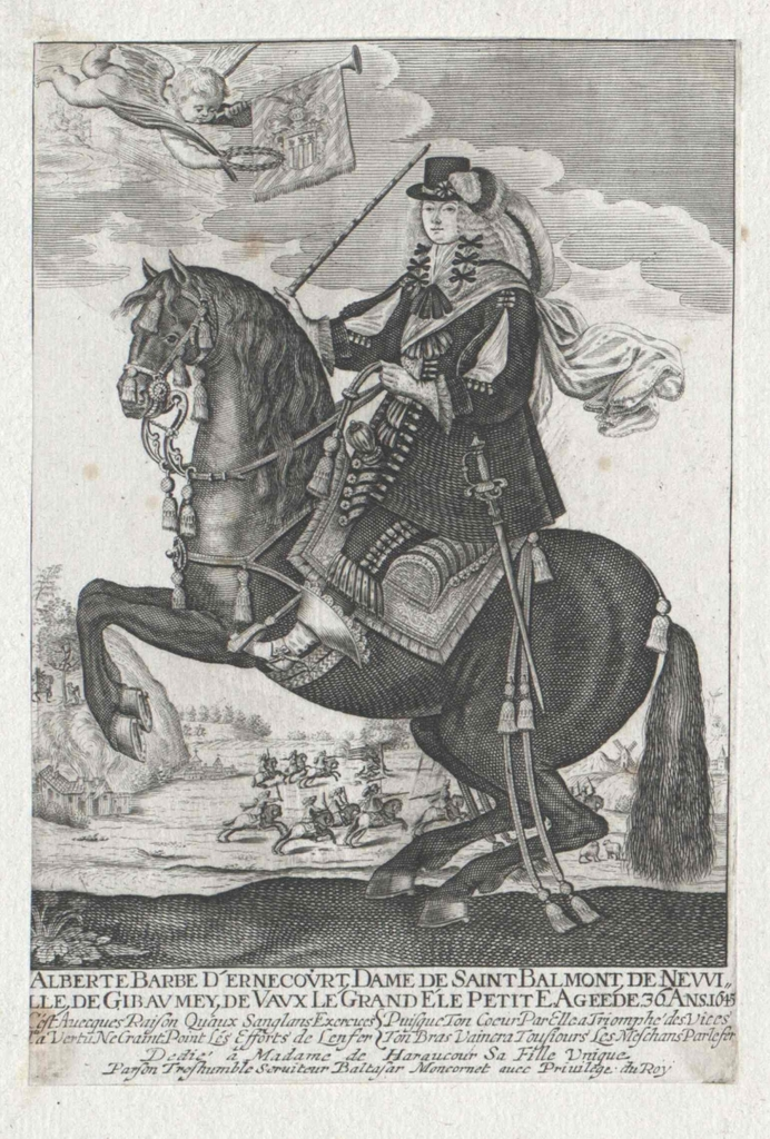 Ernecourt, Comtesse de Saint-Balmont, Alberte Barbe d'