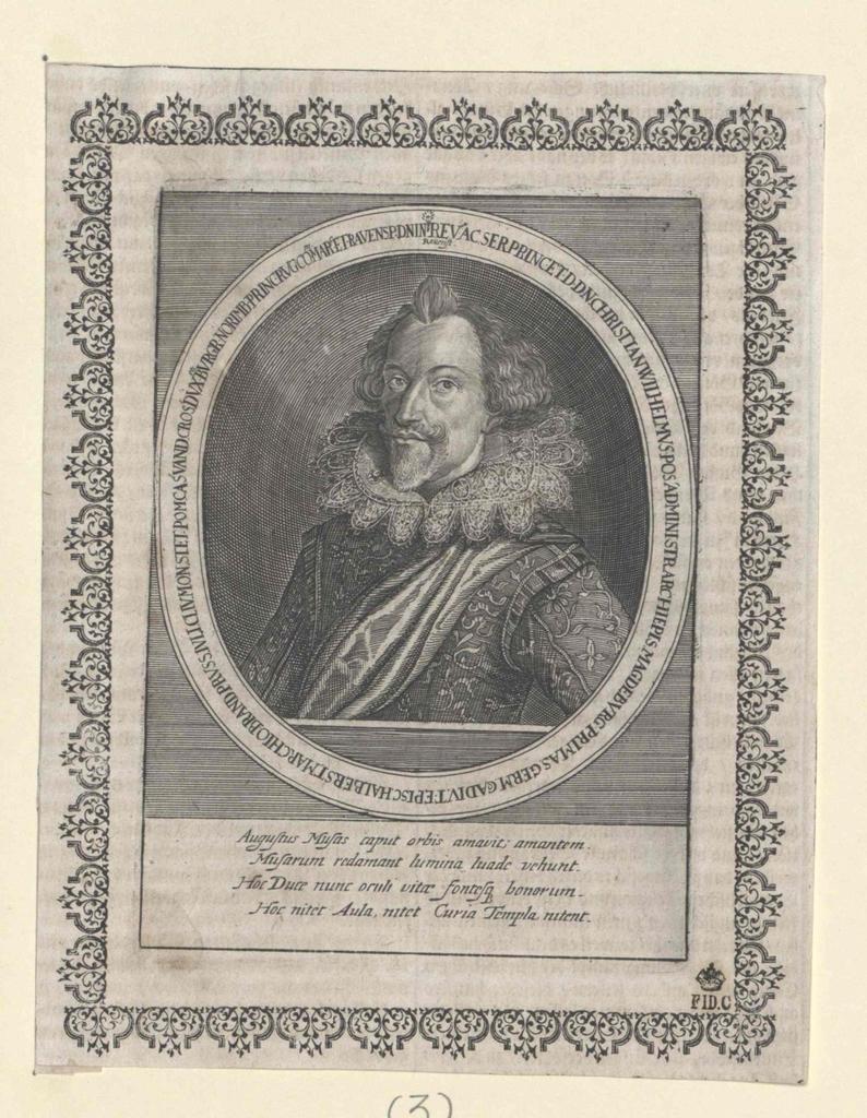 Christian Wilhelm, Markgraf von Brandenburg