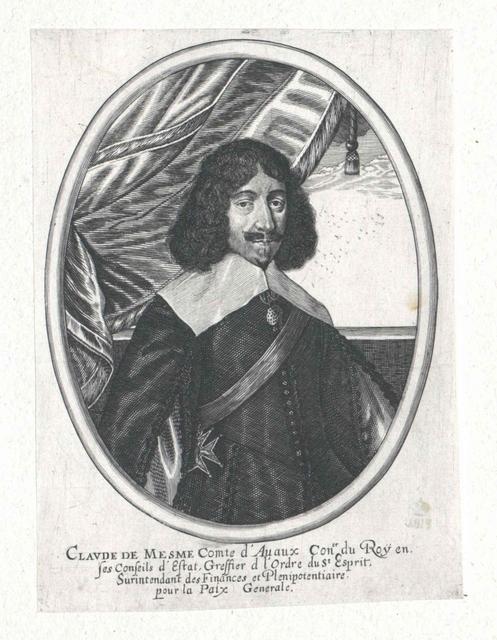 Mesmes, Comte d'Avaux, Claude de