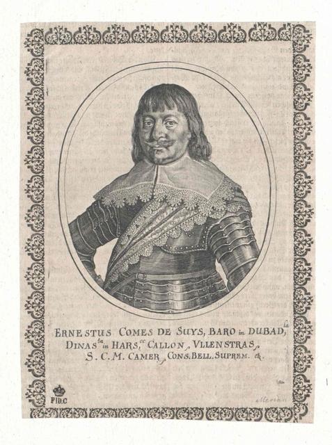 Suys und Tourabel, Ernst Roland Graf von