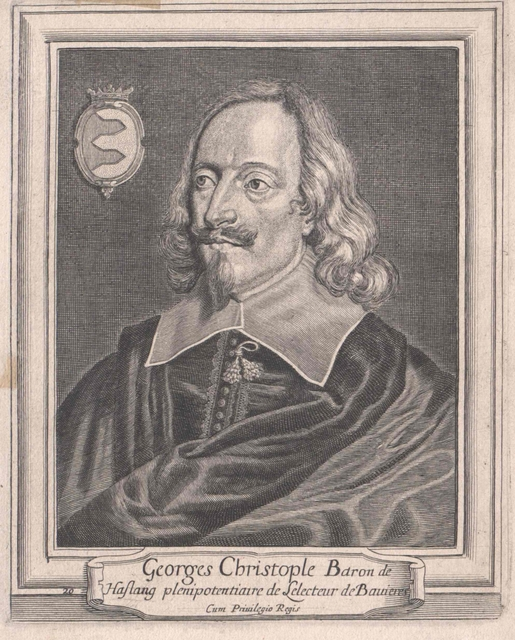Haslang zu Hohenkammer, Georg Christoph Freiherr von