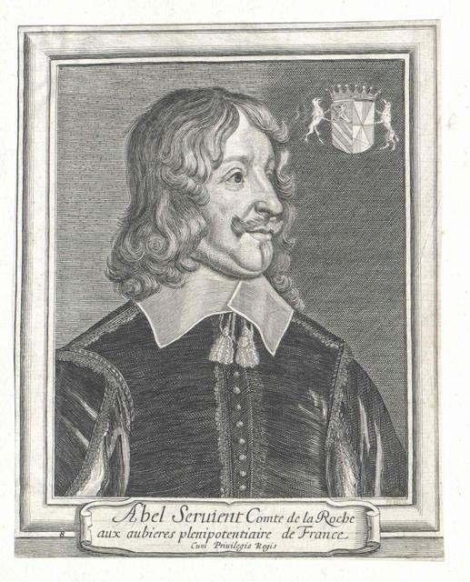 Servien, Marquis de Sable et de Boisdauphin, Abel