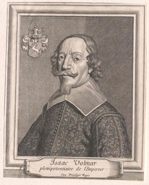 Volmar, Freiherr von Rieden, Isaak