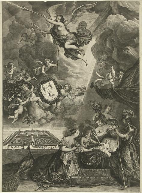Allegorie op de Vrede van Rijswijk, 1697