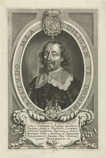 Portret van Georg Ulrich von Wolkenstein und Rodenegg