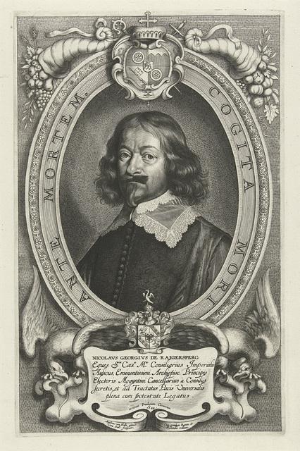 Portret van Nicolaus Georg von Reigersberg