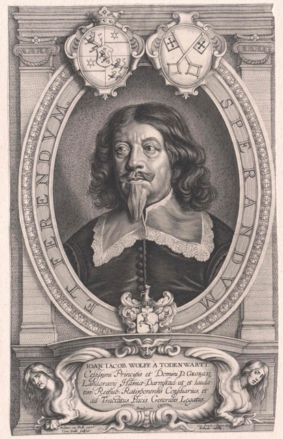Wolff von Todtenwart, Johann Jakob