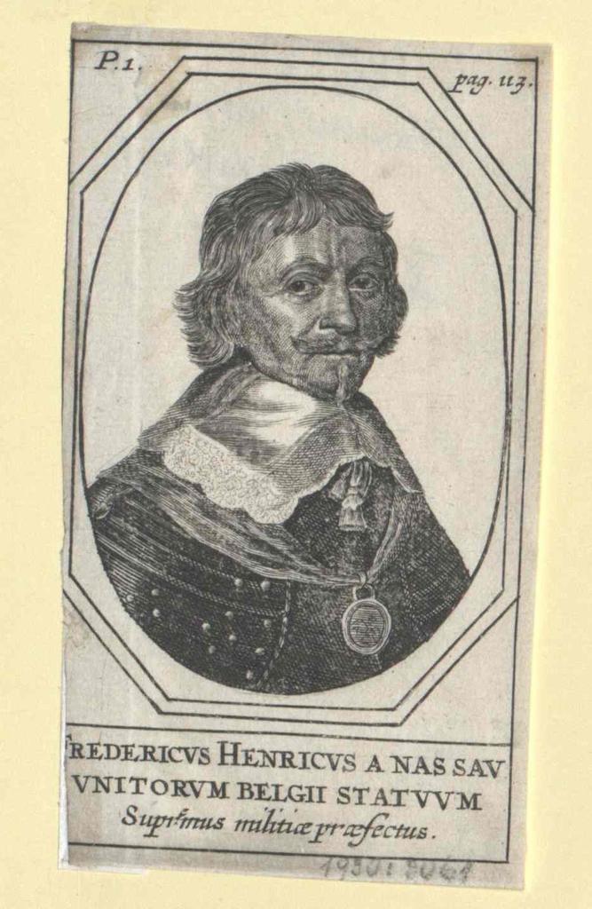 Friedrich Heinrich, Prinz von Oranien, Graf von Nassau