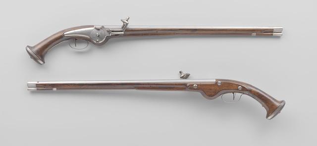 Pair of wheellock pistols