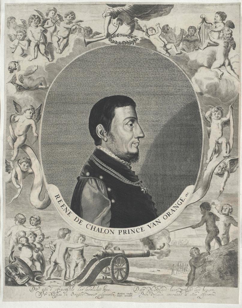 Renatus von Chalon, Prinz von Oranien, Graf von Nassau