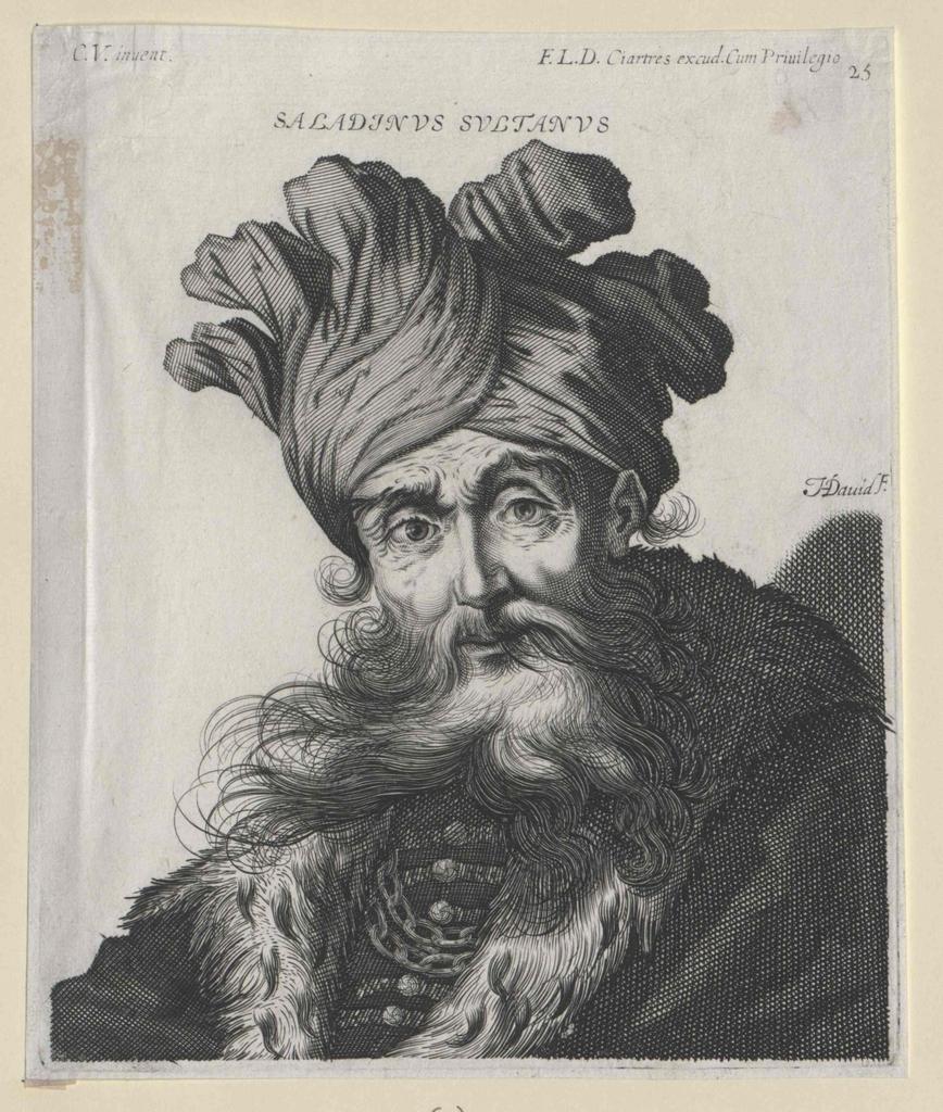 Saladin, Sultan von Ägypten und Syrien