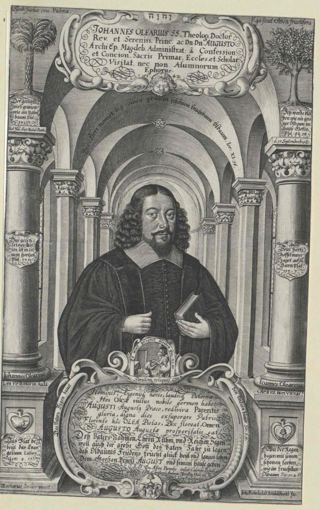 Olearius, Johann