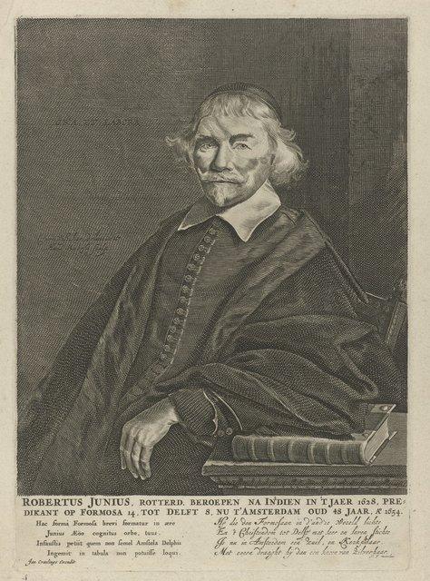 Portret van Robert Junius