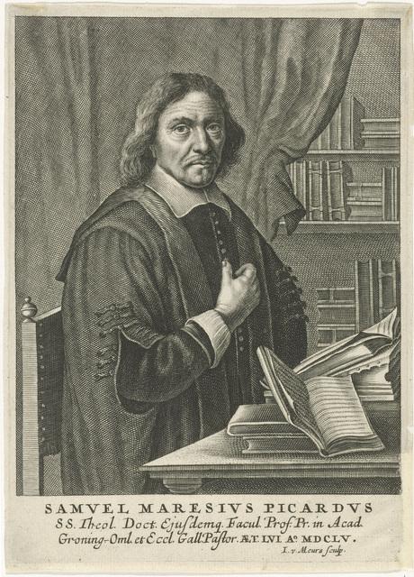 Portret van Samuel Maresius
