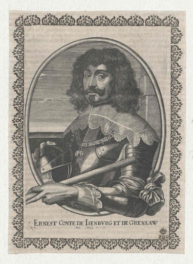 Isenburg und Grenzau, Ernst Graf von