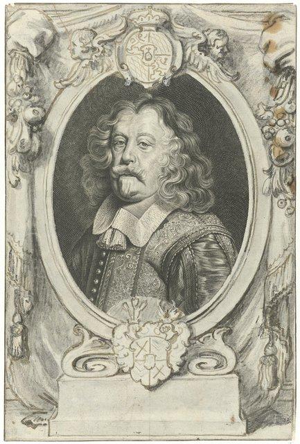 Portret van Maximilian Kurtz von Senftenau
