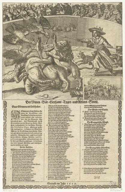 Allegorie op de Noordse Oorlog, ca. 1658
