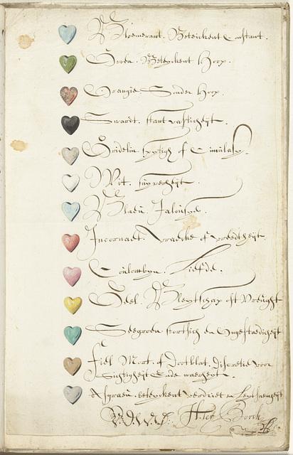 List of Color Symbols