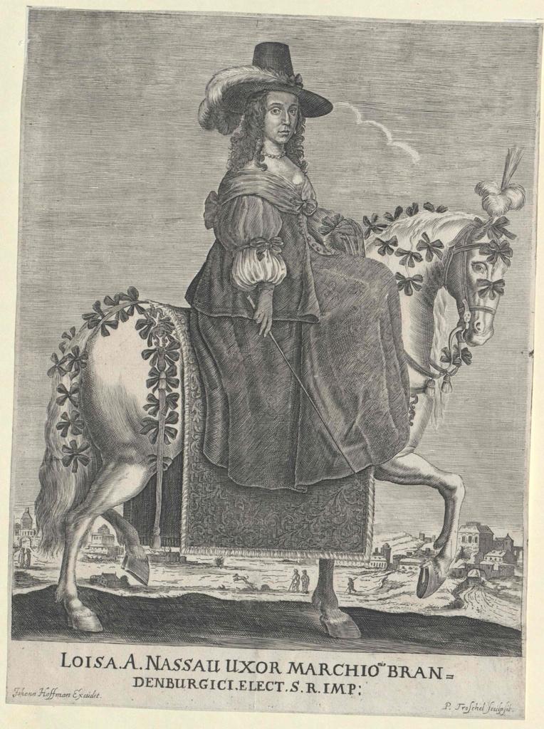 Luise Henriette, Prinzessin von Oranien, Gräfin von Nassau