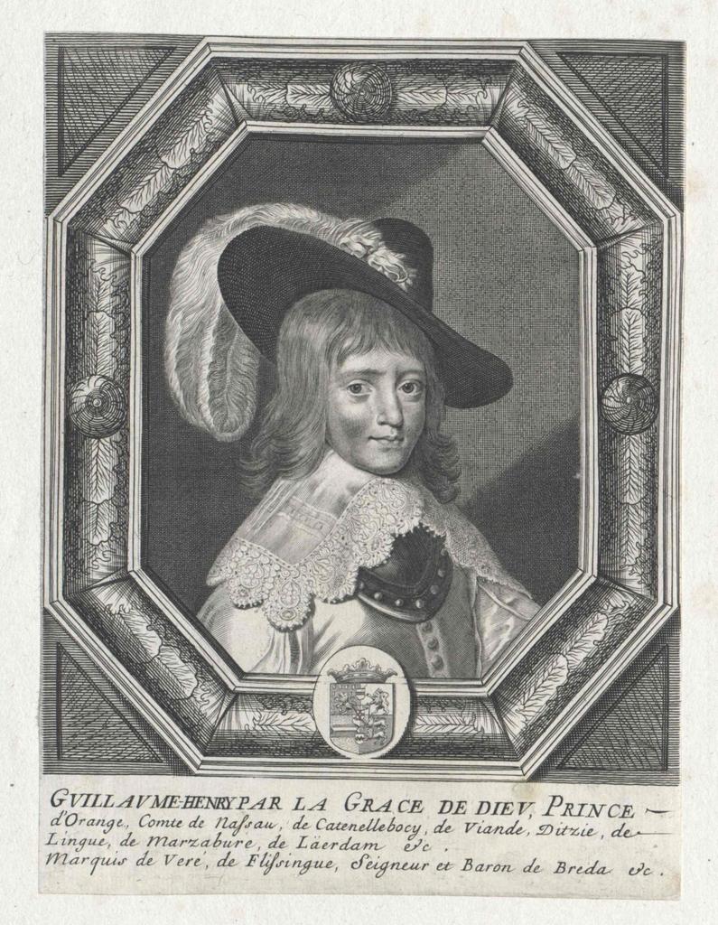 Wilhelm II., Prinz von Oranien, Graf von Nassau