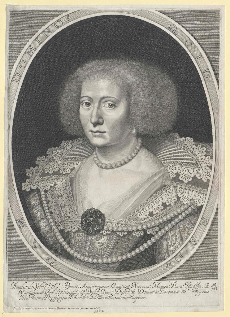 Solms-Braunfels, Amalie Gräfin zu