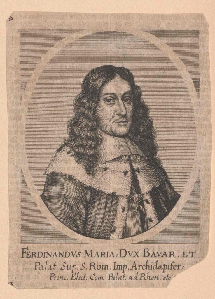 Ferdinand Maria, Kurfürst von Bayern