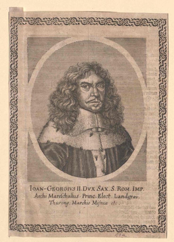 Johann Georg II., Kurfürst von Sachsen