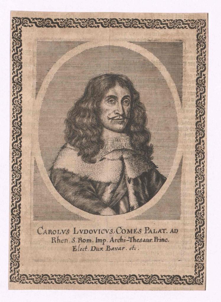 Karl I. Ludwig, Kurfürst von der Pfalz