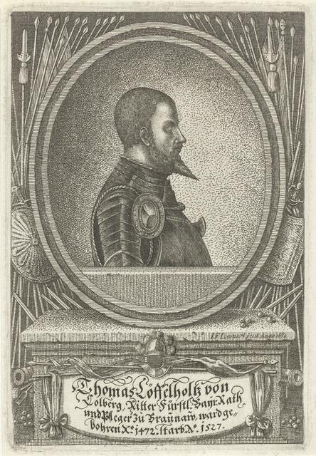 Portret van Thomas Löffelholz von Kolberg