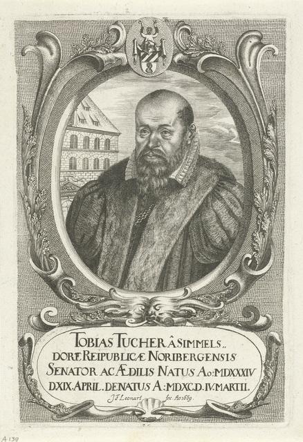 Portret van Tobias Tucher von Simmelsdorf