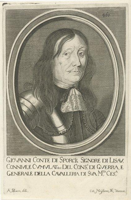 Portret van Johann von Sporck