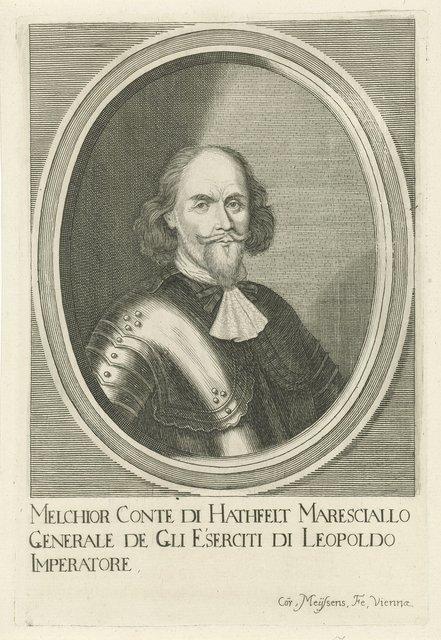 Portret van Melchior von Hatzfeldt