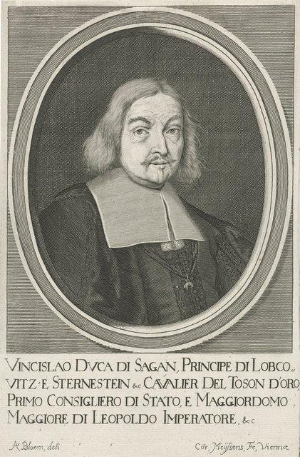 Portret van Wenzel Eusebius von Lobkowitz