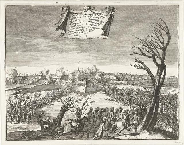 Bestorming en verovering van Coevorden op 30 december 1672
