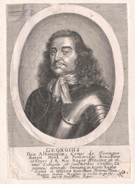 Monck, George, 1. Duke of Albemarle