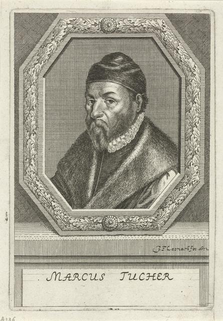 Portret van Marcus Tucher