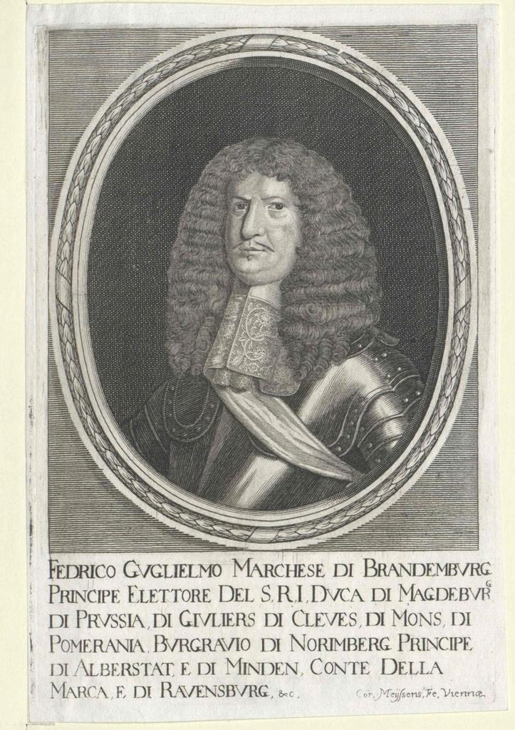 Friedrich Wilhelm, Kurfürst von Brandenburg (1620-1688)
