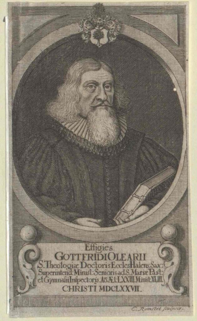 Olearius, Gottfried