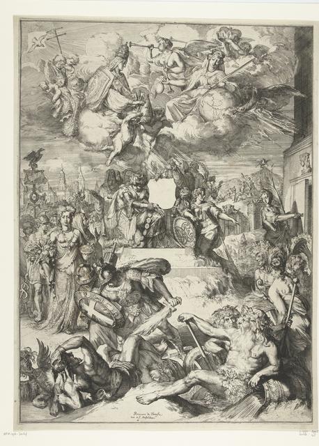 Allegorie op de benoeming van Karl Henrich tot aartsbisschop van Mainz