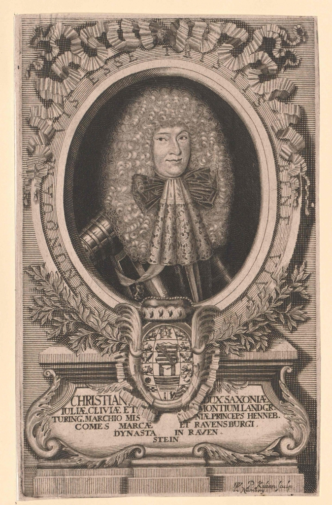 Christian, Herzog von Sachsen-Eisenberg